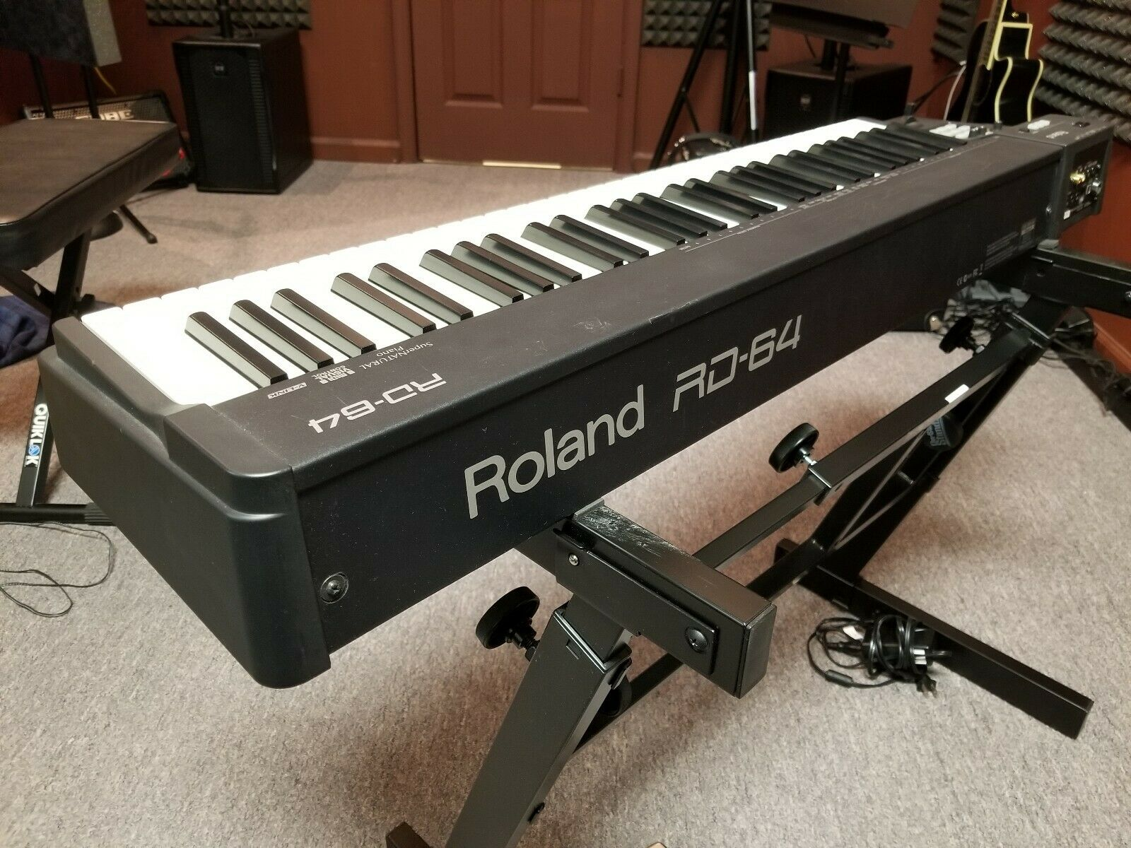 Roland® RD-64 Weighted Key Professional Stage Piano Keyboard - USED