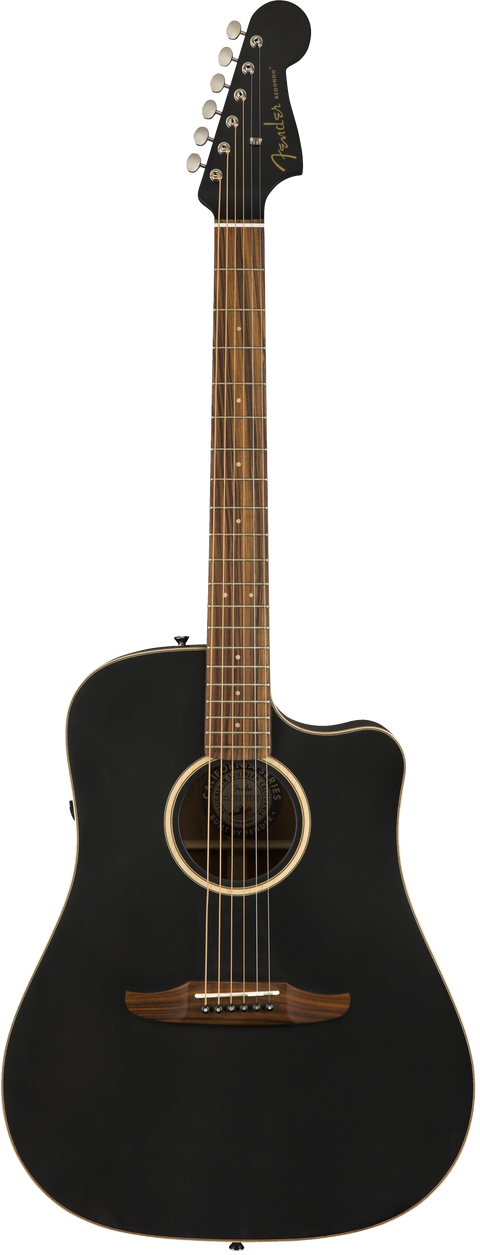 Fender Redondo Special Acoustic / Electric Guitar - Jetty Black