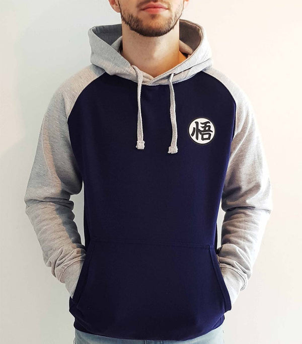 Kanji Dragon Ball Hoodies/sweat Homme de shonen arina