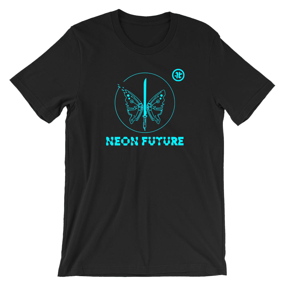 Neon Future Butterfly T-Shirt