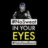 Halo Bandit - pullover Headband, Black
