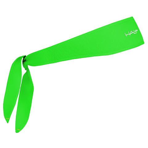 Halo I Tie Headband, Bright Green