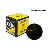 Dunlop Pro Double Yellow Squash Ball - Single Ball