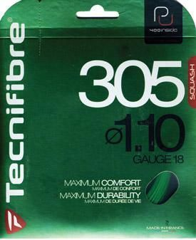 Tecnifibre 305 SPL 18g 1.10 mm Squash Strings
