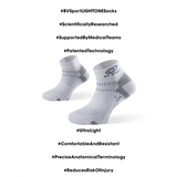 BV Sport LIGHT ONE Socks White (Pair)