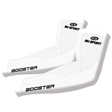 COMPRESSION ARM SLEEVES - WHITE