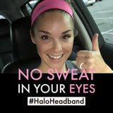 Halo II - pullover headband, Bright Pink
