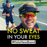 Halo I Tie Headband, Bright Pink