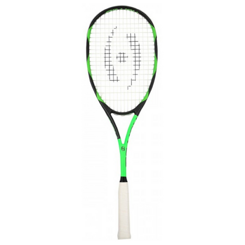 Harrow Vibe Black-Lime Squash Racquet