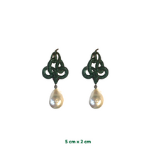 Sahmaran Pearl Earrings