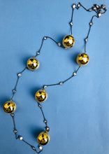 Gold Ball Designer Long Necklace