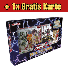 Load image into Gallery viewer, Yugioh Duel Overload Box (DE) + 1 von 3 Gratiskarten