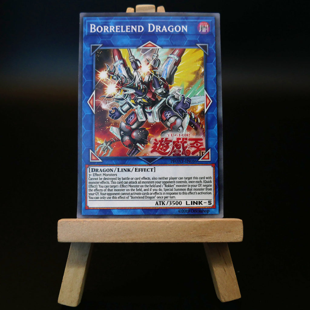 Borrelend Dragon [Proxy] - Oricashop