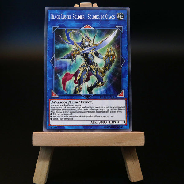 Black Luster Soldier - Soldier of Chaos [Proxy] - Oricashop