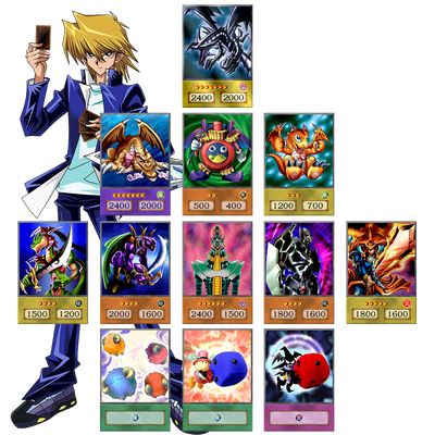Anime Card Set: Joey Wheeler - Oricashop