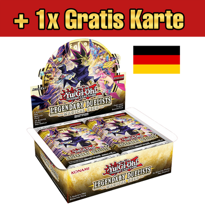 Legendary Duelists: Magical Hero Display (DE) + 1x Gratiskarte - Oricashop