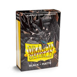 Dragon Shield Sleeves - Black (Japanese-Sized) - Oricashop