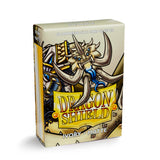 Dragon Shield Sleeves - Ivory (Japanese-Sized) - Oricashop