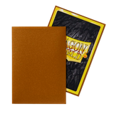 Dragon Shield Sleeves - Gold (Japanese-Sized) - Oricashop