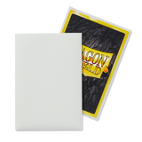 Dragon Shield Sleeves - White (Japanese-Sized) - Oricashop