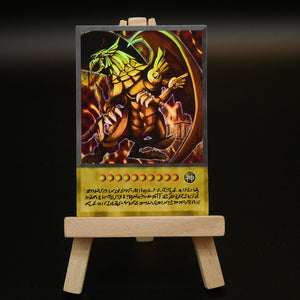The Winged Dragon of Ra Anime Card Real Life HOLO