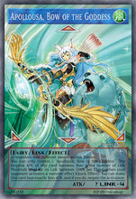 Load image into Gallery viewer, Apollousa, Bow of the Goddess [Full-Art Proxy]