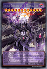 Load image into Gallery viewer, Lucifer, Darklord of the Morning Star [Full-Art Proxy]