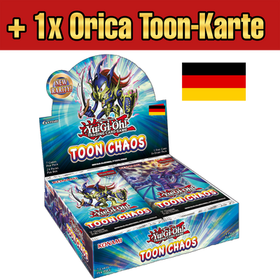 Toon Chaos Display (DE) - Oricashop