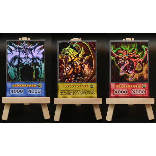 Anime Card Set: The 3 God Cards (HOLO / COMMON)