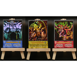 Anime Card Set: The 3 God Cards (HOLO / COMMON) - Oricashop