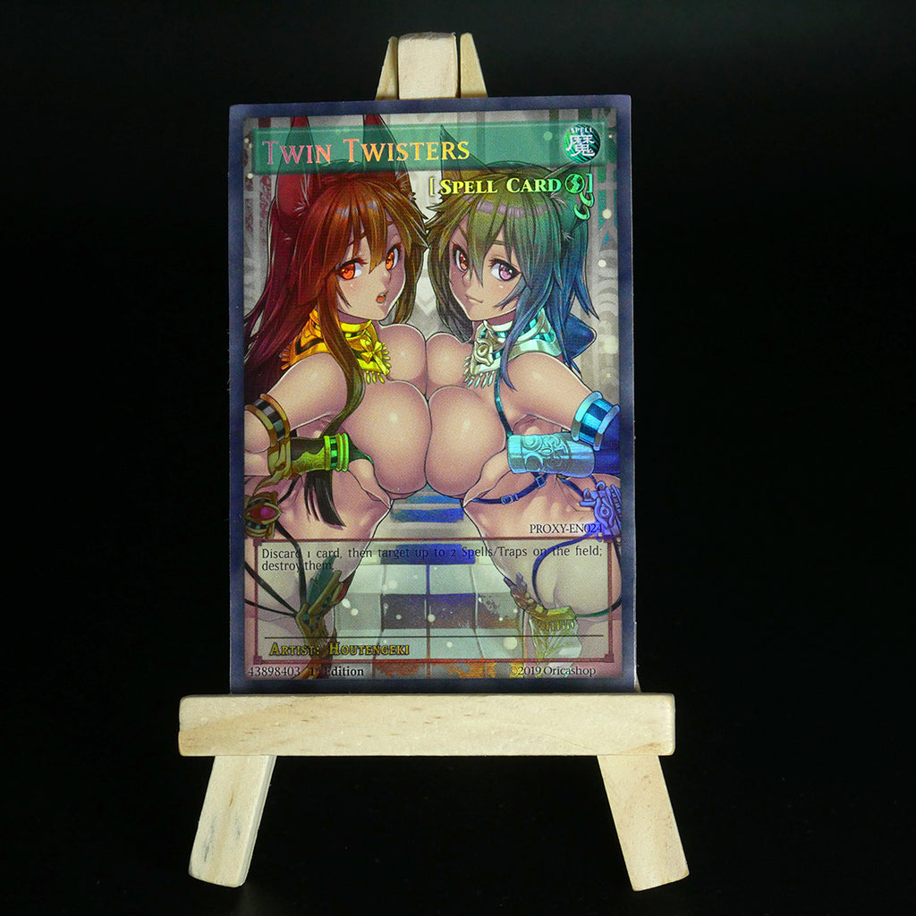 Twin Twisters (HOLO) [Proxy] - Oricashop