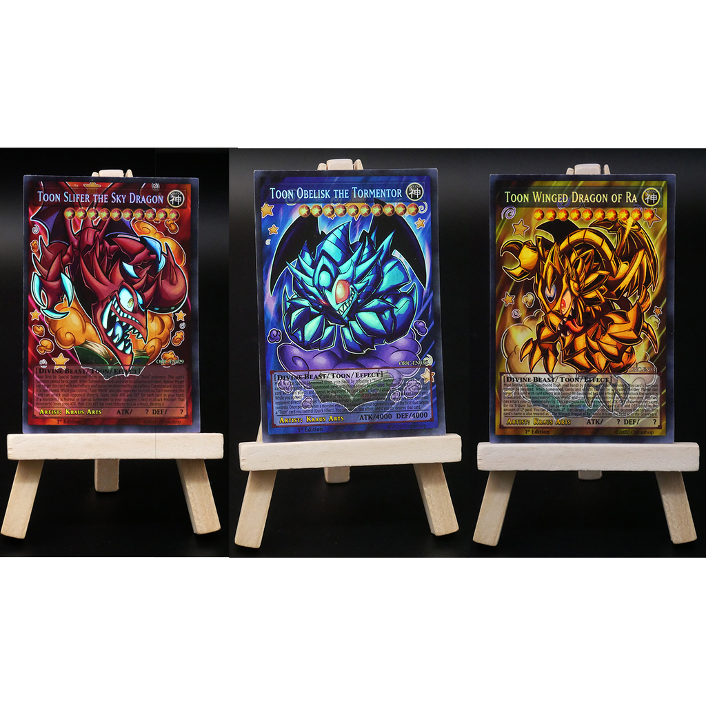 3x-Set: Toon God Cards - Oricashop