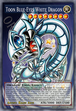 Load image into Gallery viewer, Toon Blue-Eyes White Dragon (Holo) ORIC-036