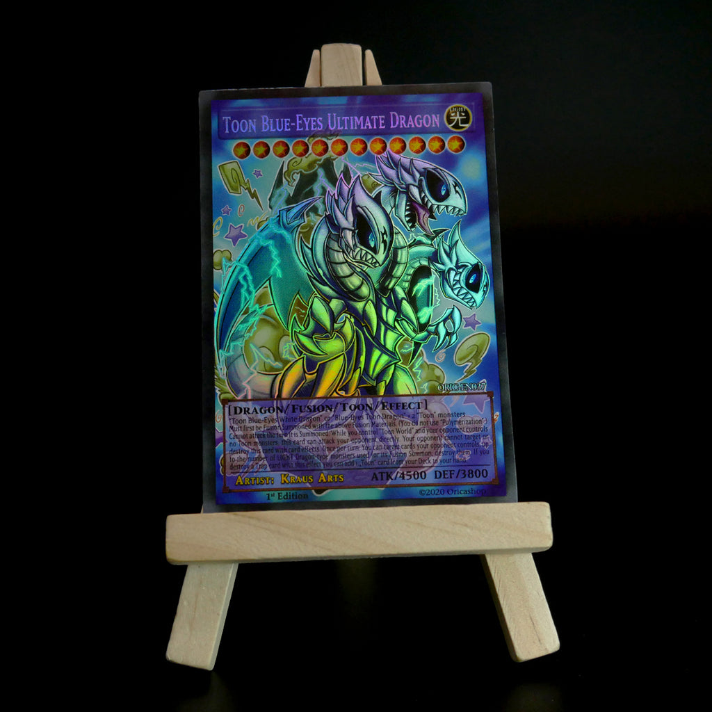 Toon Blue-Eyes Ultimate Dragon (Holo) ORIC-037 - Oricashop