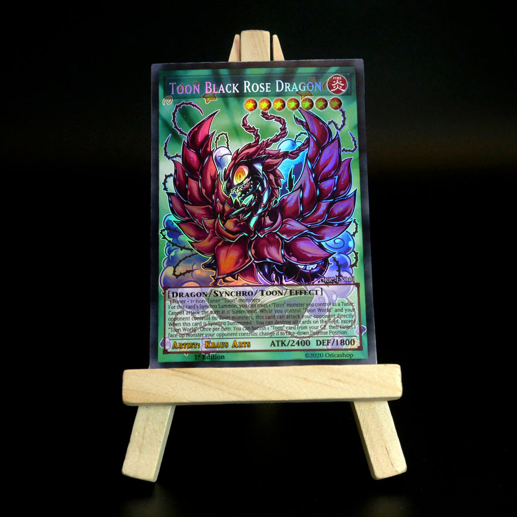 Toon Black Rose Dragon (Holo) ORIC-046 - Oricashop