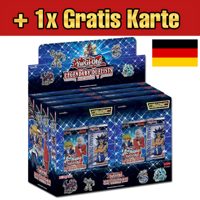 Legendary Duelists: Season 1 CASE (DE) - Oricashop