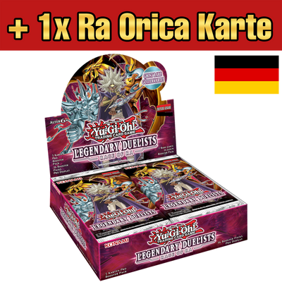 Legendary Duelists 7: Rage of Ra Display (DE) - Oricashop