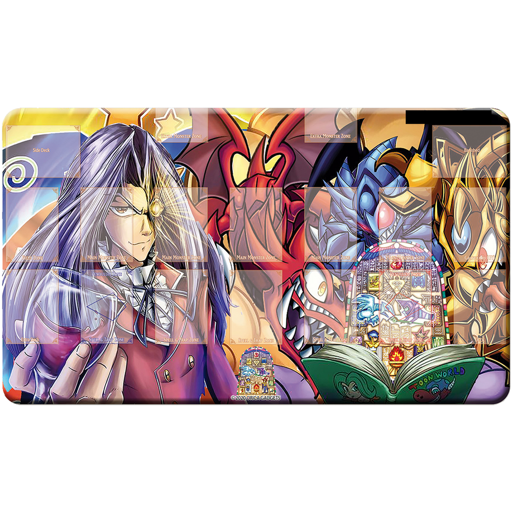 Toon God Cards Playmat - Oricashop