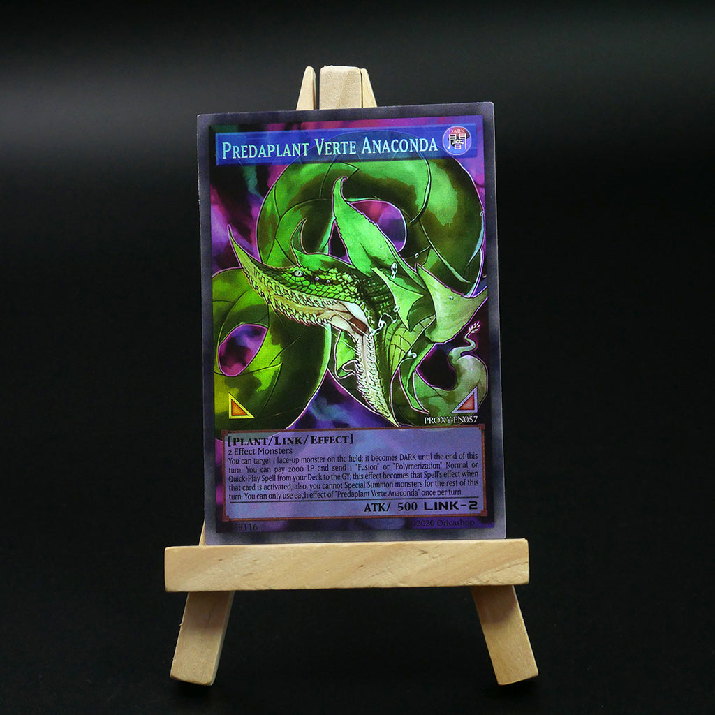 Predaplant Verte Anaconda [Full-Art Proxy] - Oricashop