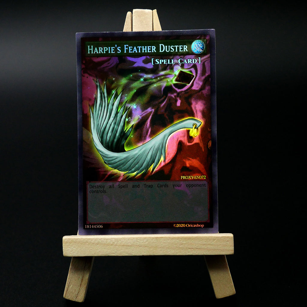 Harpie's Feather Duster [Full-Art Proxy] - Oricashop