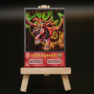 Slifer the Sky Dragon Anime Card Real Life HOLO