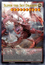 Load image into Gallery viewer, Slifer the Sky Dragon Full-Art Card