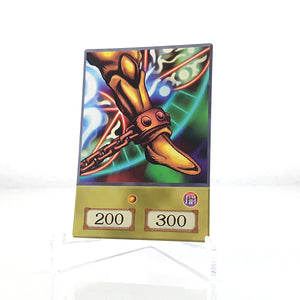 Left Leg of the Forbidden One Anime Card Real Life