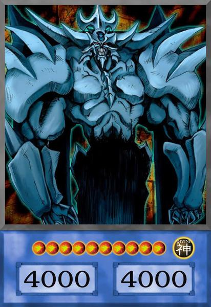 Obelisk the Tormentor Anime Card
