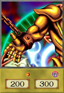 Right Arm of the Forbidden One Anime Card
