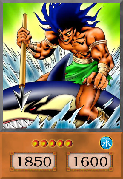 The Legendary Fisherman Anime Card