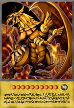 Load image into Gallery viewer, The Winged Dragon of Ra Anime Card