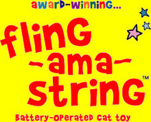 Load image into Gallery viewer, Fling-ama-String Cat Toy