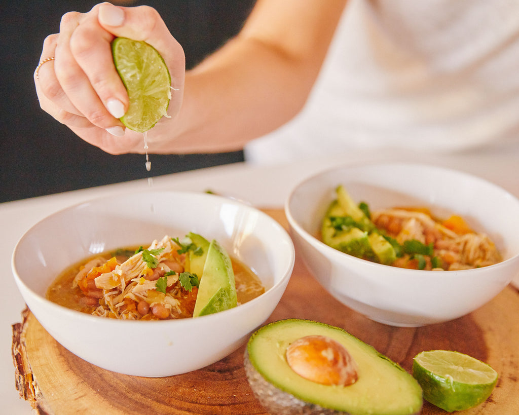 Tomatillo Chicken Chili