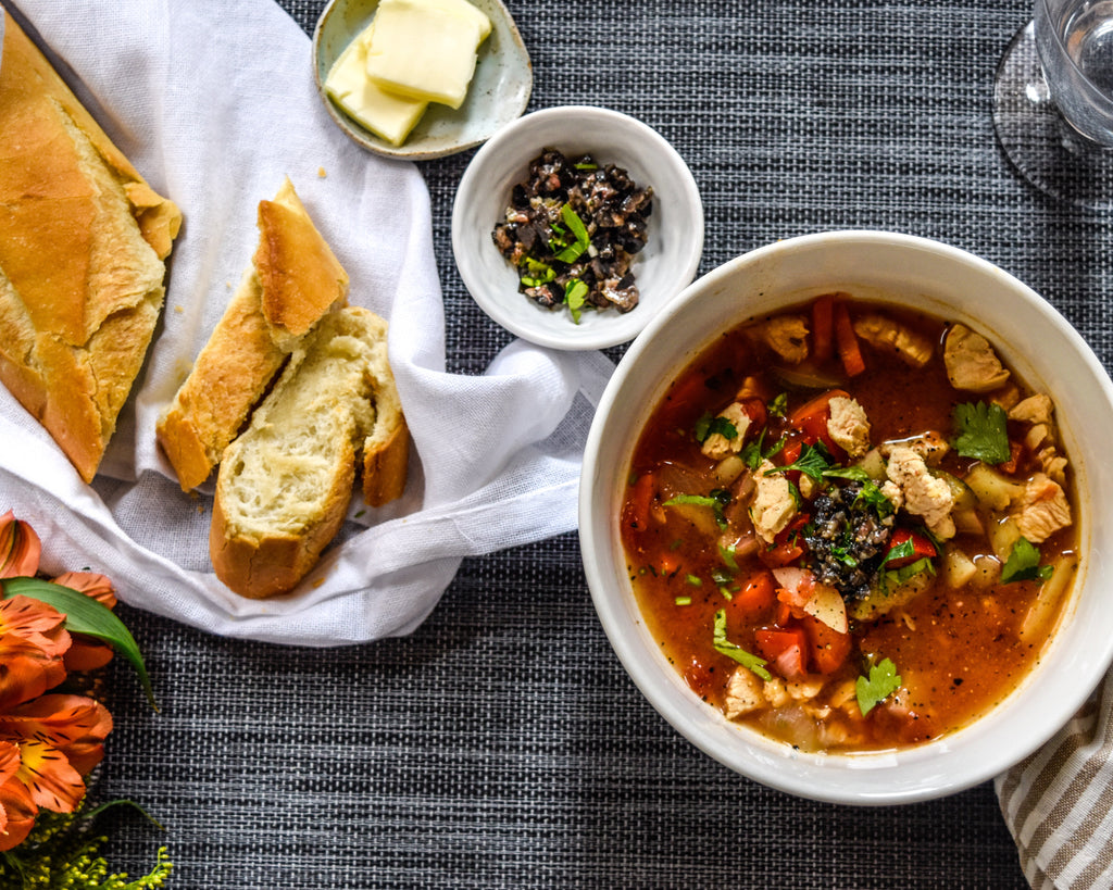 Cozy Chicken and Vegetable Soup